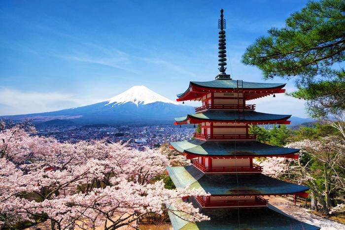 see Mount Fuji from Chureito Pagoda