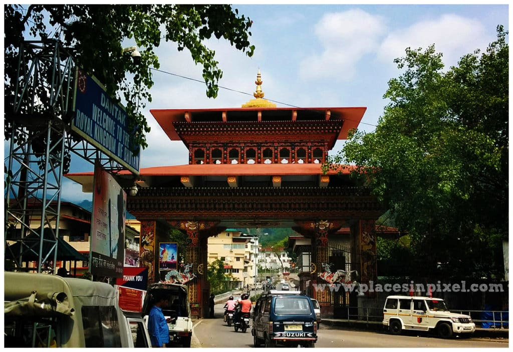 bhutan entry gate