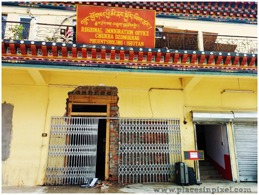 Phuentsholing immigration office