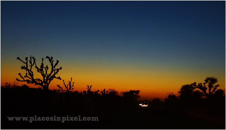rajasthan sunset