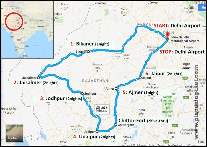 Our Rajasthan trip