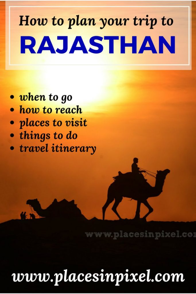 how to plan your Rajasthan trip