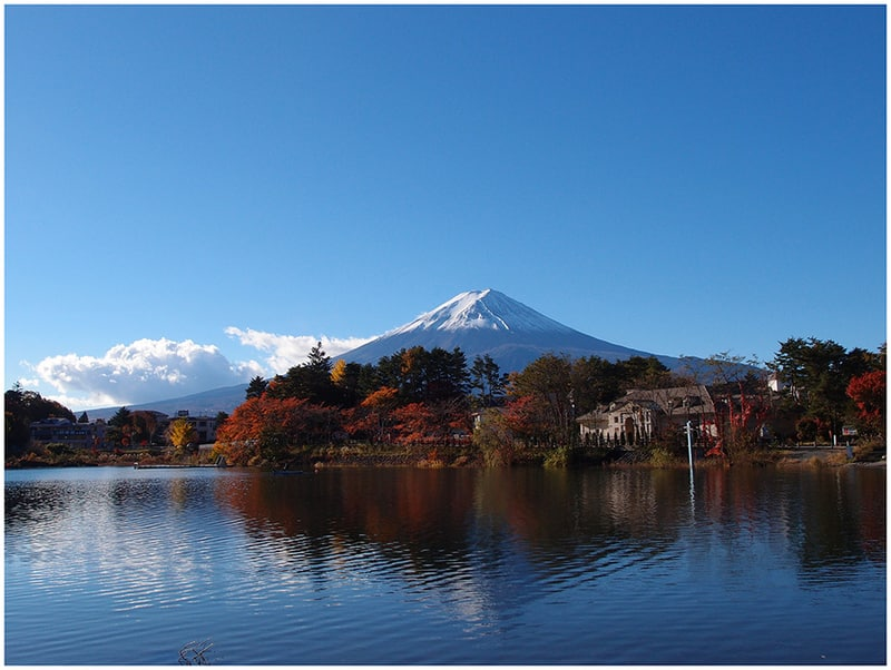 see mount fuji from_lake_kawaguchiko