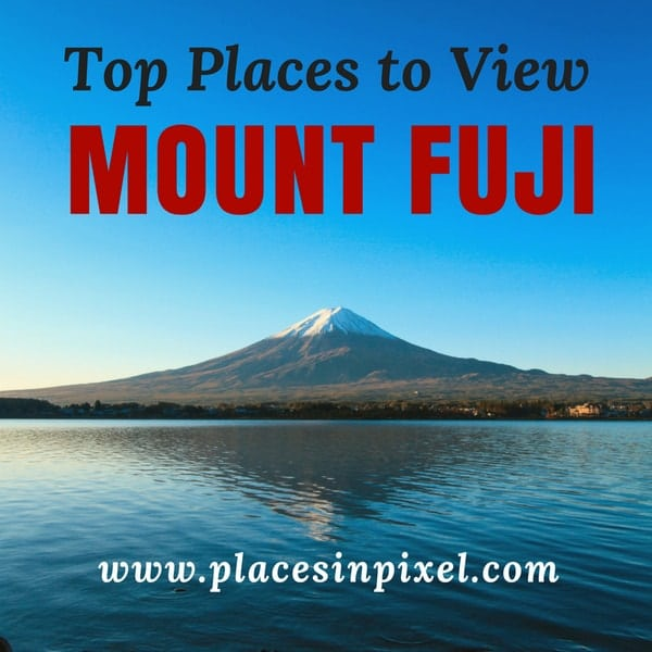 top places to see mount fuji