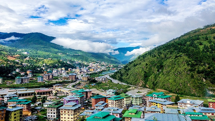Bhutan travel guide landscape
