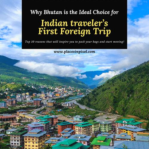 bhutan first foreign trip