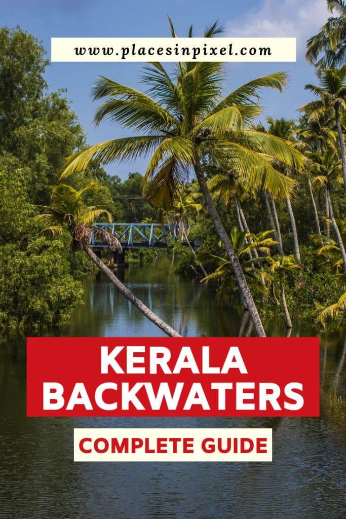backwaters of Kerala (India)