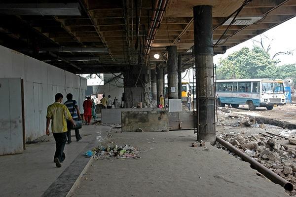 Inter State Bus Terminal Delhi
