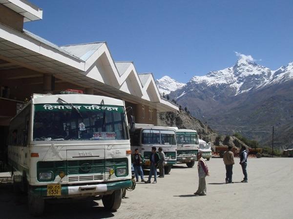 Keylong Bus Stand