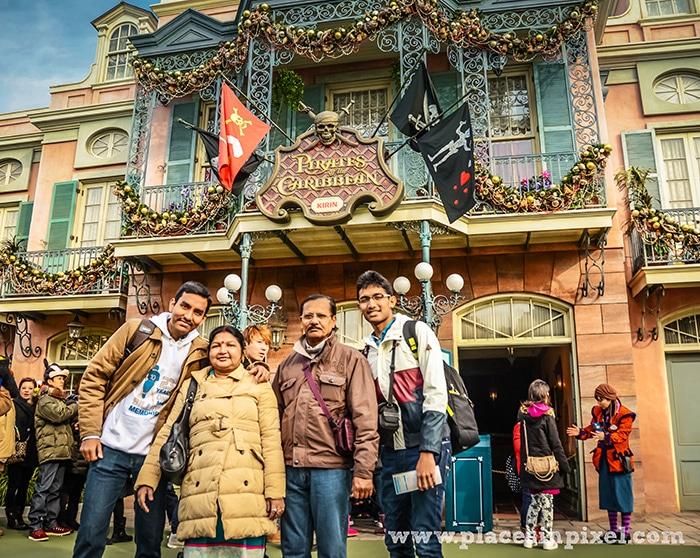 Tokyo Disneyland rides
