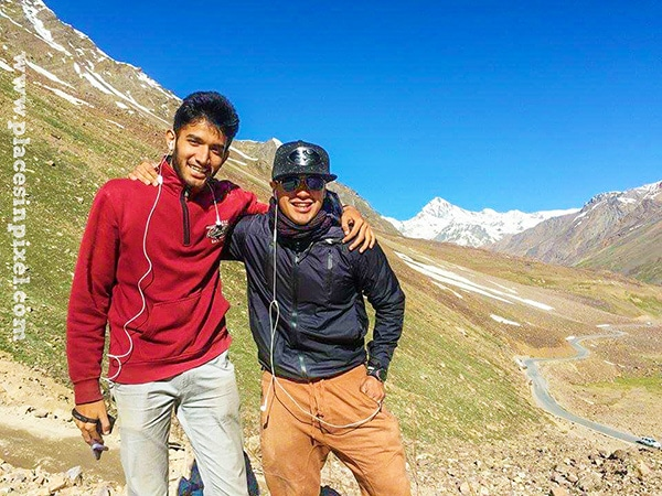 brothers on the stok kangri trek