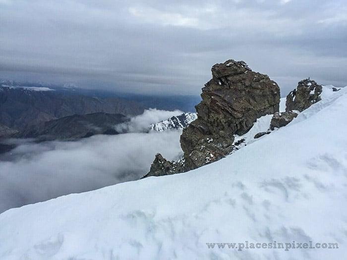 Himalayas snow
