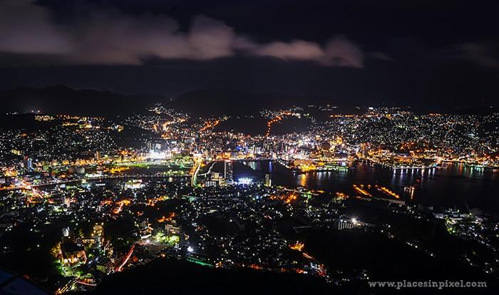 Nagasaki night view