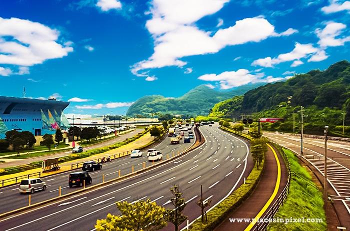 beppu to nagasaki route