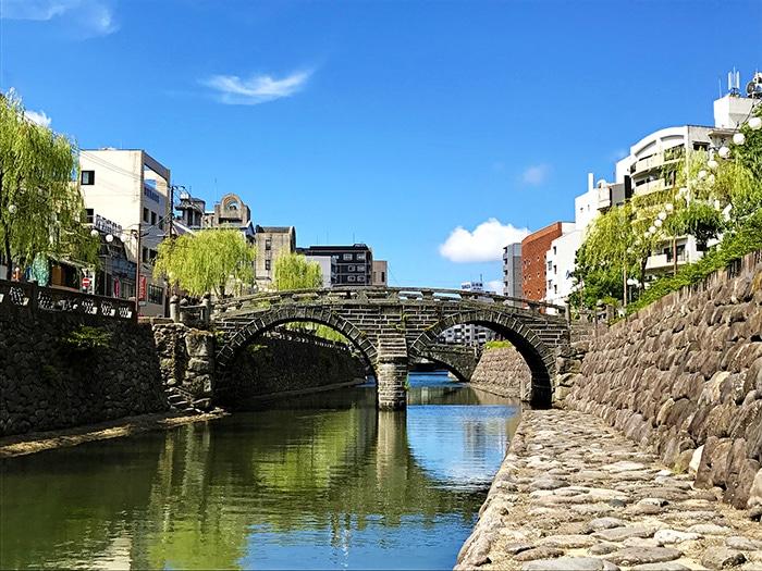 Meganebashi bridge nagasaki