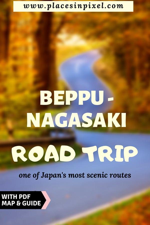 beppu bagasaki road trip