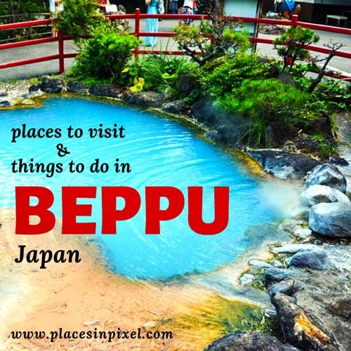 weekend in beppu