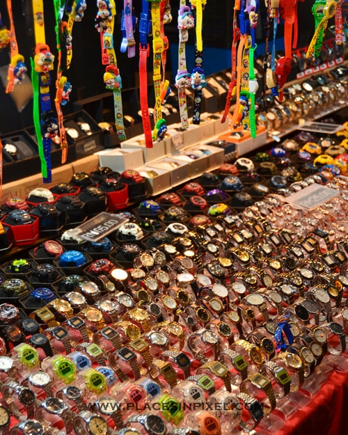 watches in Langkawi's Night Markets