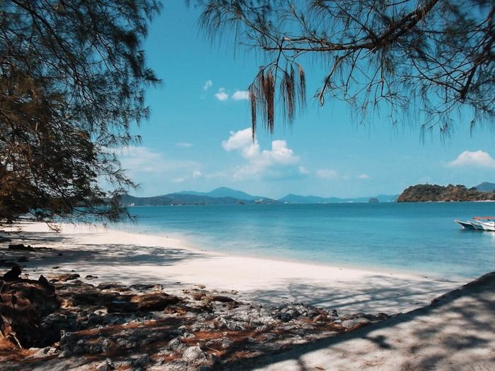 beautiful topical island langkawi