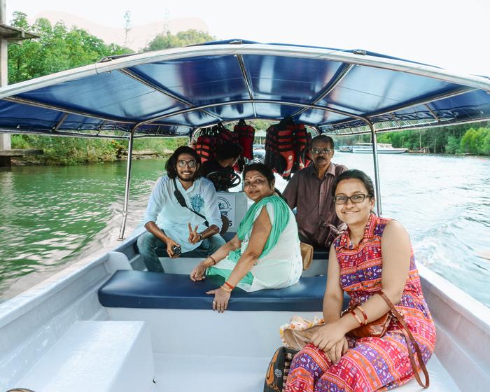speedboat ride in langkawi