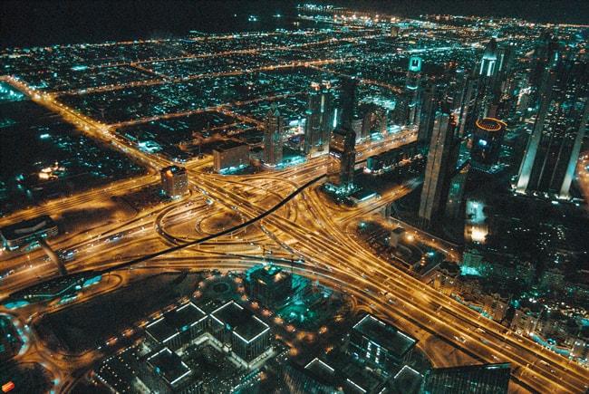 roads of UAE