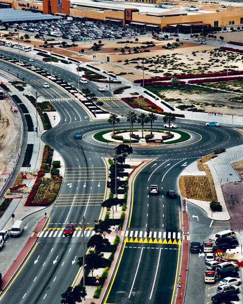 roads in Abu Dhabi