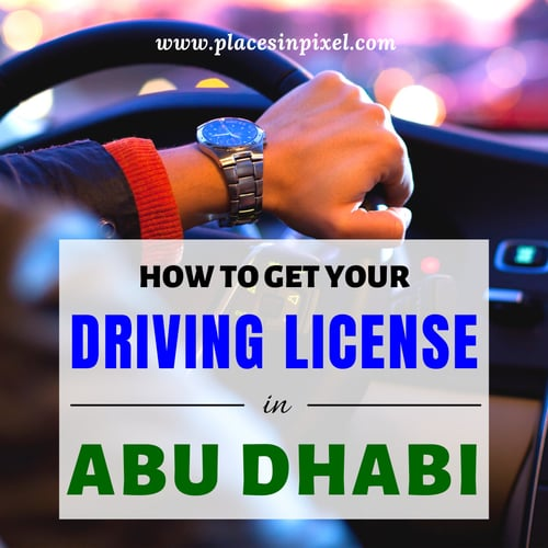 Driving License in Abu Dhabi
