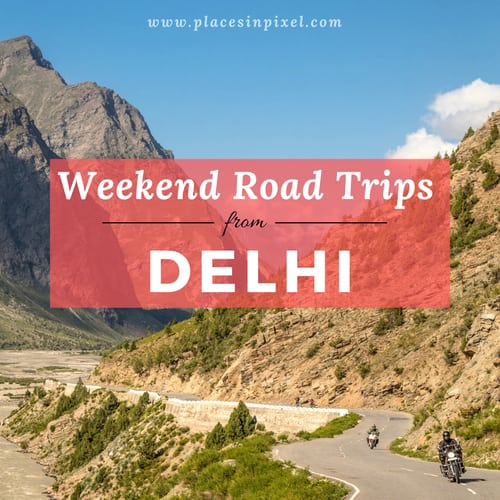 road trips from delhi