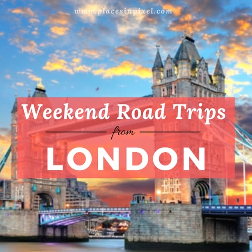 road trips from London