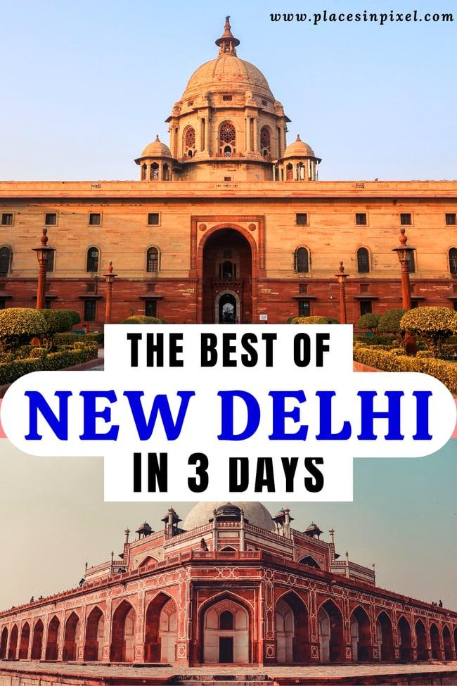 Delhi Travel Itinerary