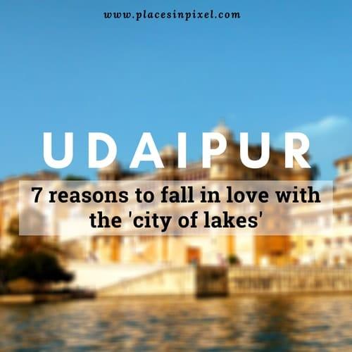 udaipur travel blog