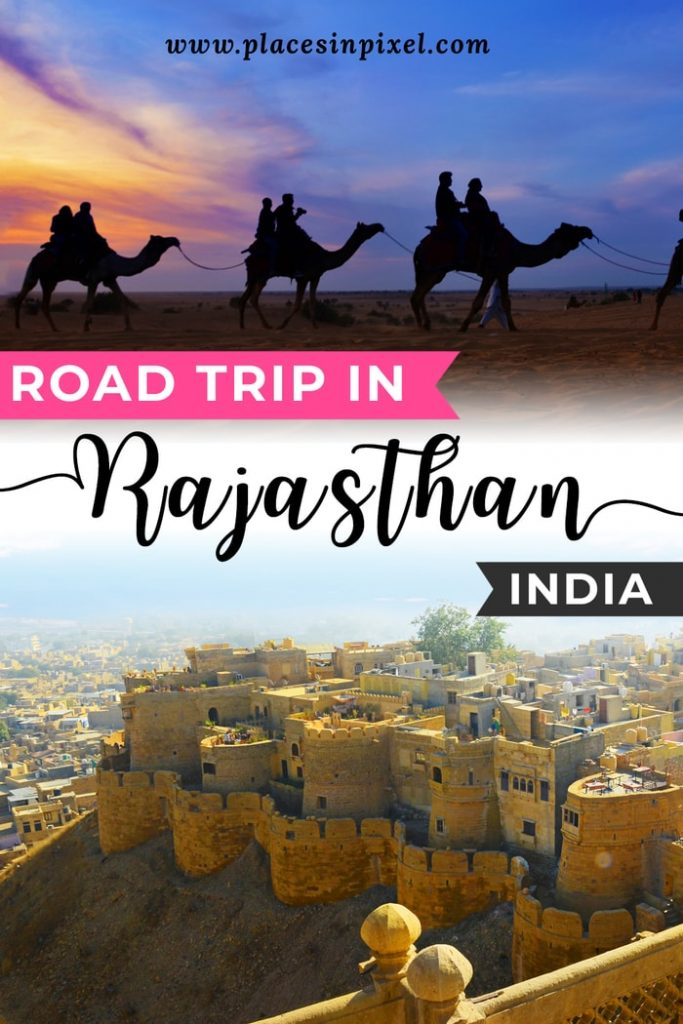 road trip in Rajasthan