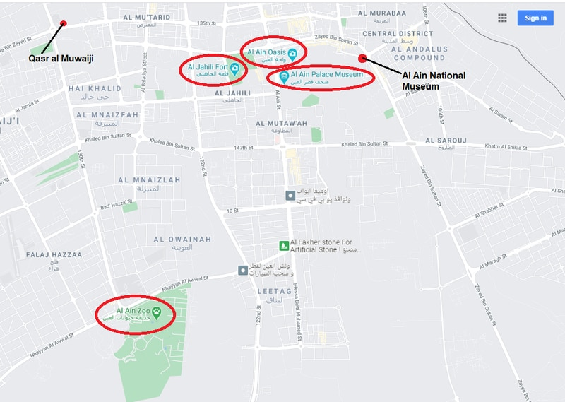 places to visit in Al Ain